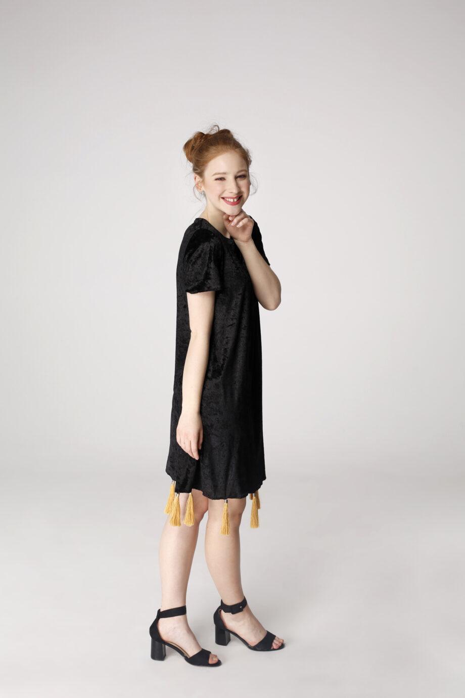 Sukienka trapezowa Dotsy - Kos nadzwyczajny